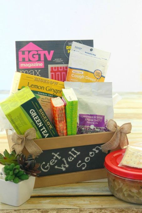Show your friend how much you care with a Get Well Gift Basket