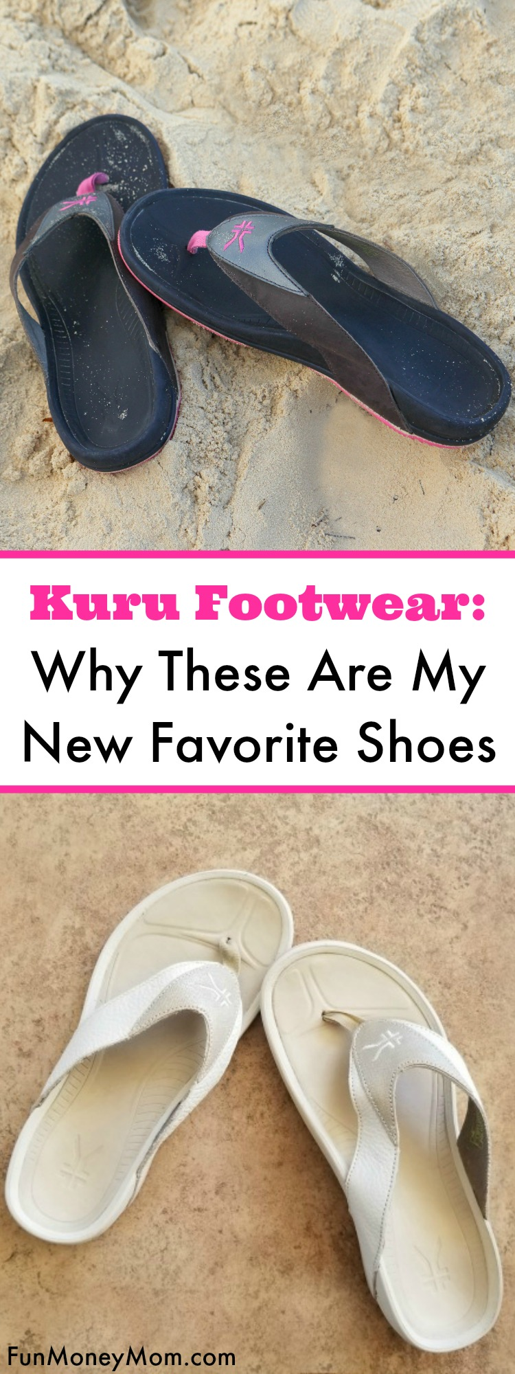 Kuru Shoes Review - When I was diagnosed with planters fasciitis, I wasn't happy about having to give up my flimsy flip flops. That was until I discovered my new favorite shoe. Check out my Kuru footwear review so see why I'm wearing these pretty much every day now! #ad