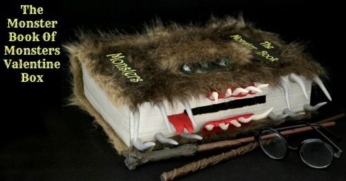 Cute Ideas For Valentine's Day Boxes: Monster Book Of Monsters
