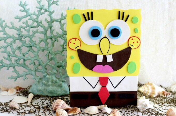 SpongeBob Valentine Box feature