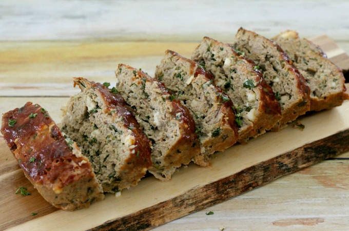 Turkey Meatloaf with spinach is a delicious blenditarian recipe