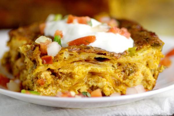 Breakfast casseroles - Mexican Breakfast Casserole