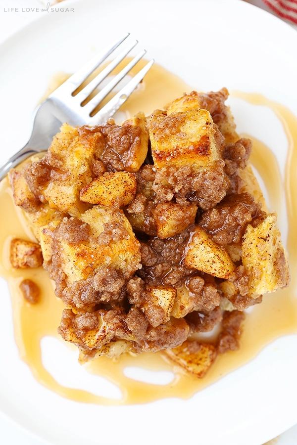 Breakfast casseroles - Cinnamon Apple Bake