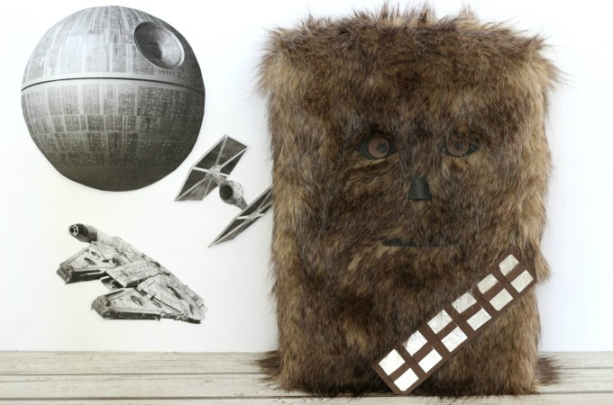 Chewbacca Valentine Box For Little Star Wars Fans