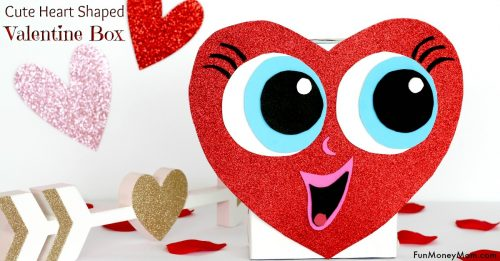 Cute Ideas For Valentine's Day Boxes: Heart Shaped Valentine's Day box