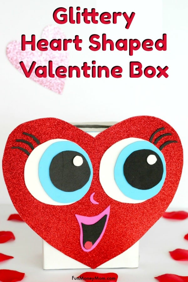 Heart Shaped Valentine Box
