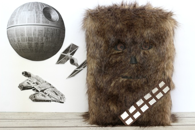 This Chewbacca Valentine Box is perfect for the Star Wars fans in your house.
