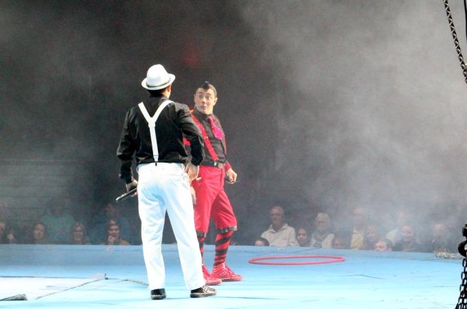The clowns at Cirque Italia were hilarious