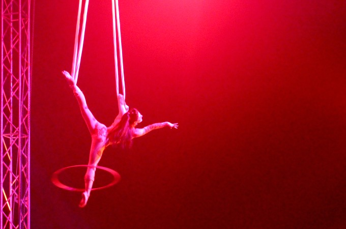 The aerial performances are always captivating