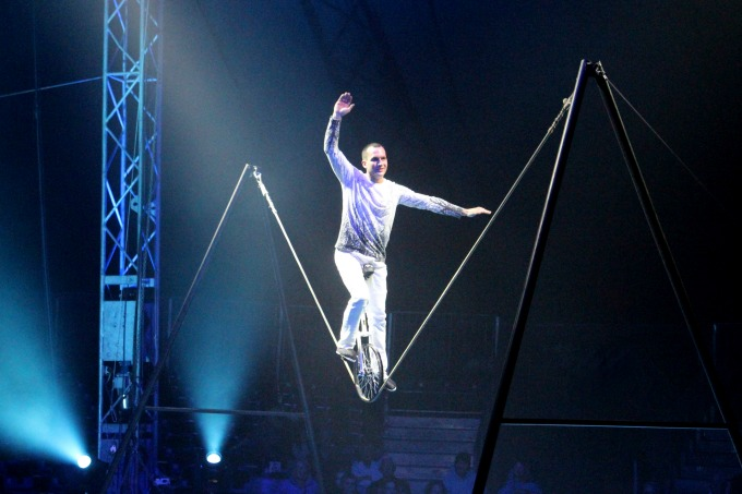 Every circus show needs a unicycle