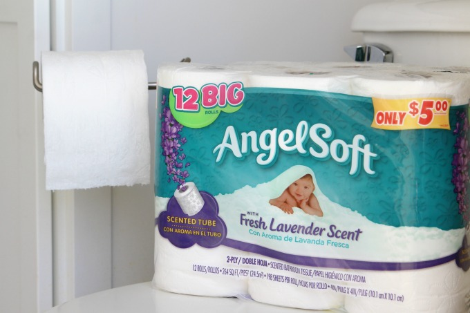 Be sure the bathroom is stocked with plenty of toilet paper