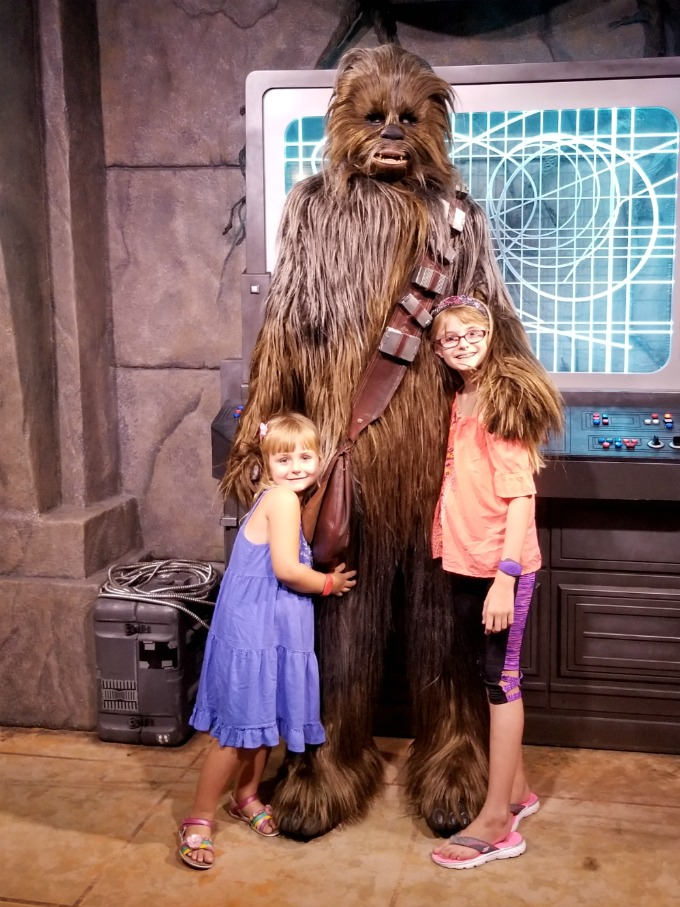 Meeting the inspiration for our Chewbacca Valentine Box