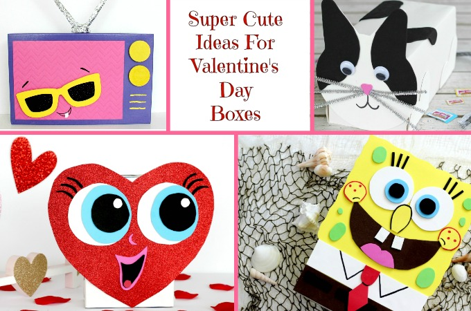 Ideas for valentine boxes feature