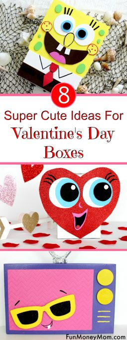 Super Cute Valentine's Day Boxes Pinterest