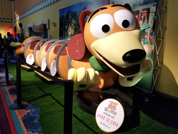 Everyone is looking forward to the opening of the new Toy Story Land in June