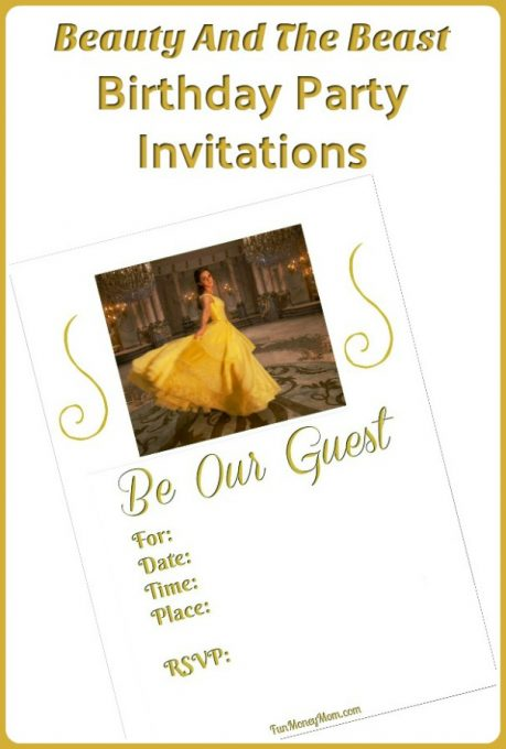 Beauty and the beast birthday invitations fun money mom beauty and the beast invitations having a beauty and the beast party you filmwisefo