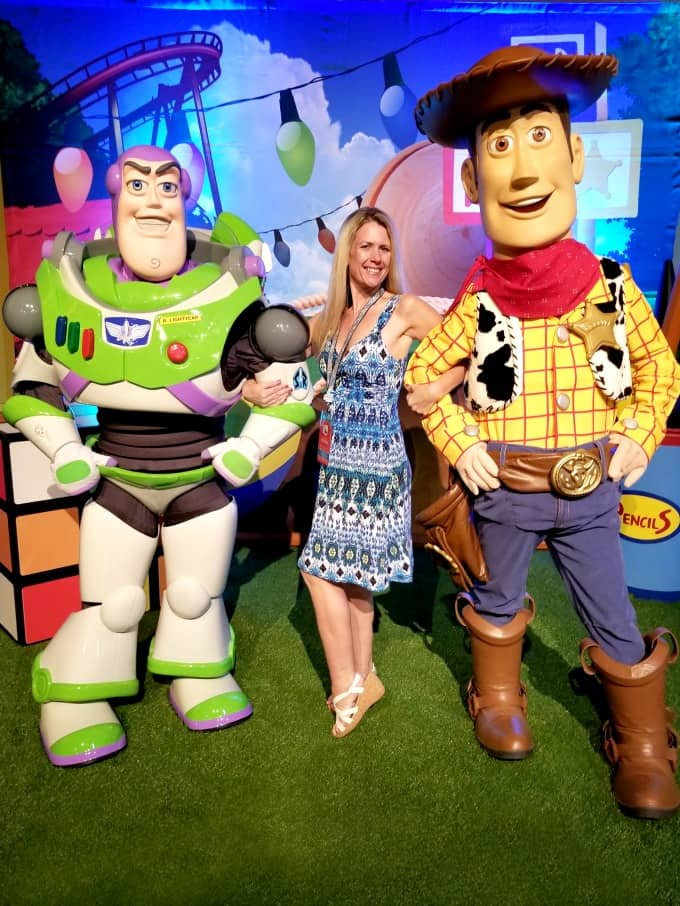 Making friends with Woody and Buzz