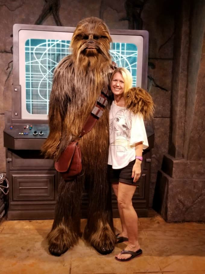 Who doesn't love hanging out with Chewbacca?
