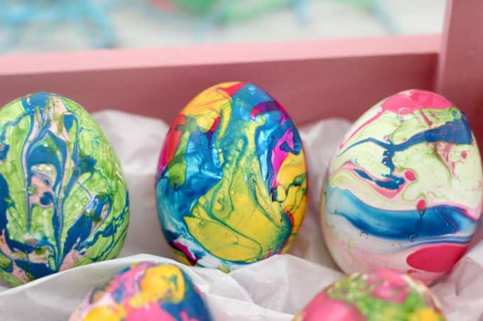 Place these decorative Easter eggs around the house for the holiday