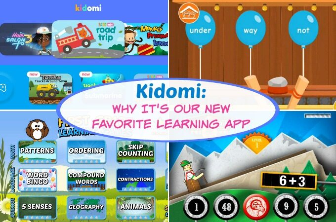 Kidomi Learning App feature