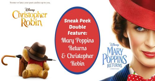 Christopher Robin and Mary Poppins