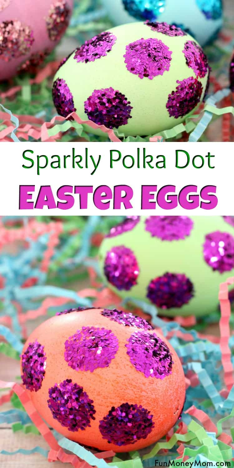 Easter egg decorations - Looking for fun Easter egg decorating ideas for the kids? These easy Easter eggs are perfect for kids but fun for the adults too. Plus, they make beautiful Easter decor! #eastereggs #easterdecor #eastercrafts