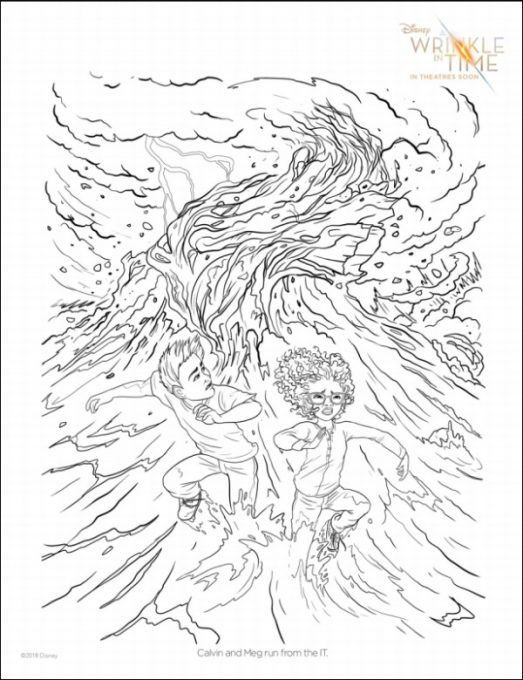 A Wrinkle In Time Coloring Page 5