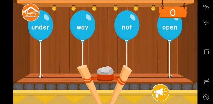 Parents can add new sight words that they'd like their kids to practice.