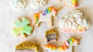 Pot of Gold St. Patrick's Day Sugar Cookies