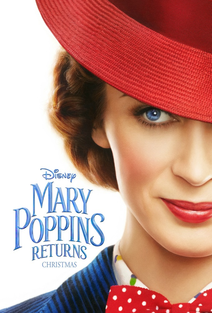 Mary Poppins Returns opens at Christmas