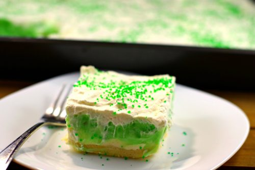 St. Patrick's Day Treat Ideas - Pistachio dessert