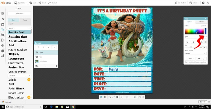 Customizing a birthday invitation template doesn't have to be hard