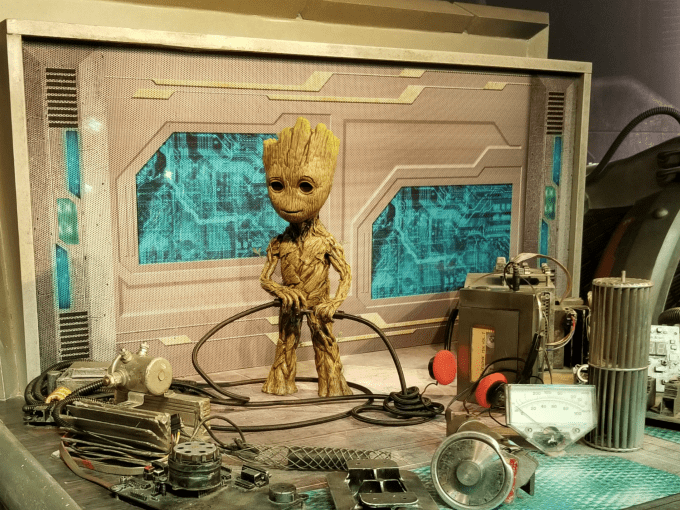 How cute is baby Groot?!