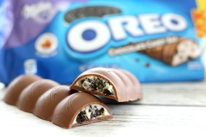 treat yourself with oreo chocolate king size candy bars