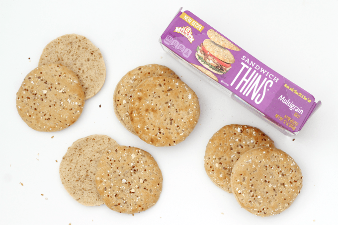 Arnolds Sandwich Thins are perfect for making low calorie sandwiches