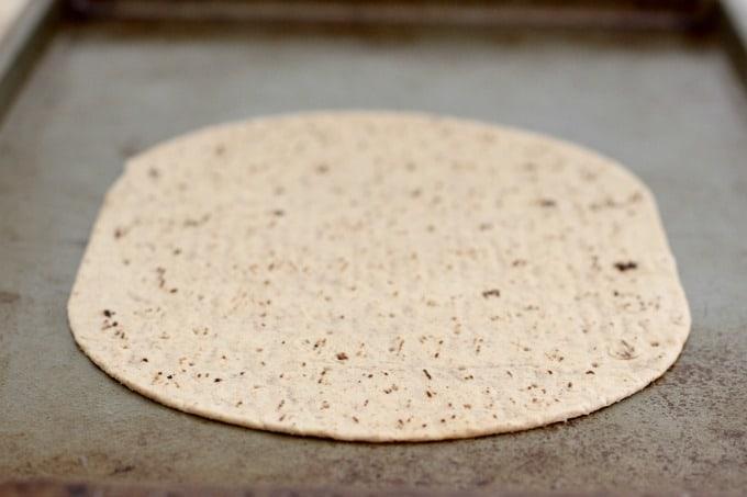 Flatout flatbread is perfect for making cheeseburger flatbread pizza