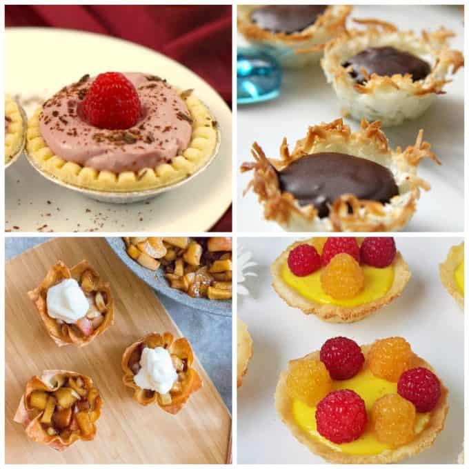 I love these bite size desserts for parties