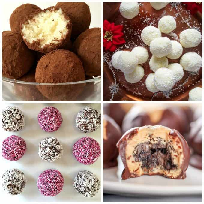 Truffles make such easy bite size desserts