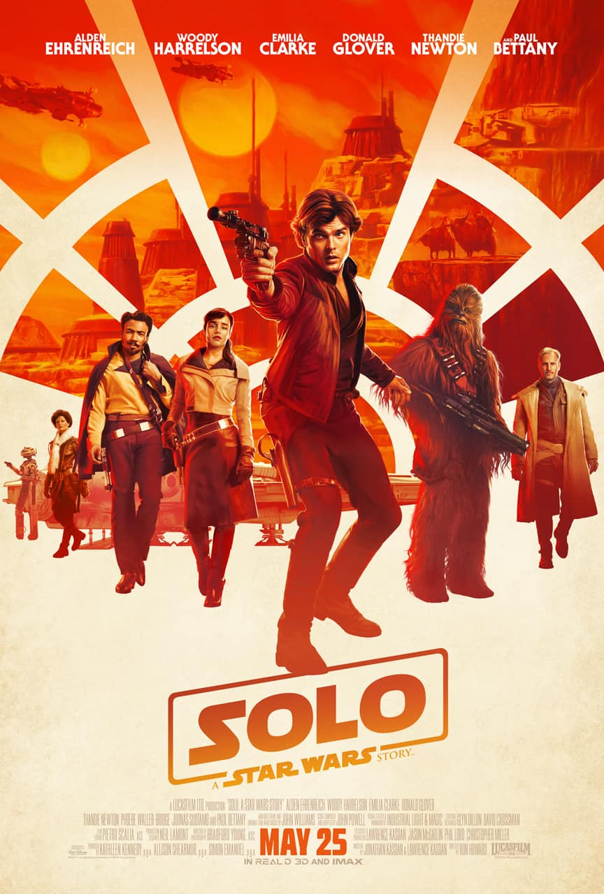 SOLO: A STAR WARS STORY new trailer and posters