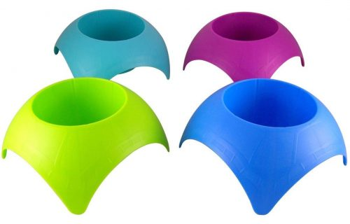 You'll want these colorful cup holders in your beach tote