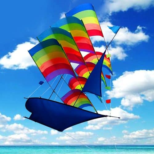 If you're looking for beach toys for kids, this kite is perfect