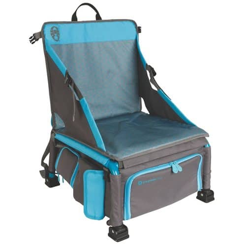 This beach chair with cooler is cool beach must have