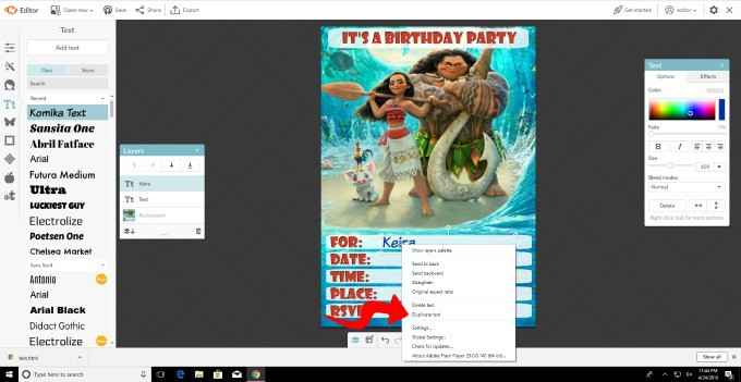 PicMonkey Is A User Friendly Way To Customize Your Printable Birthday Invitations