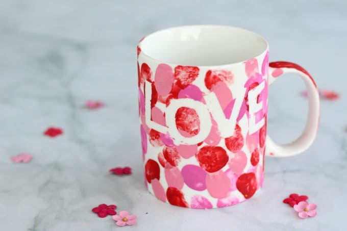 These DIY mugs make a great Mother's Day gift