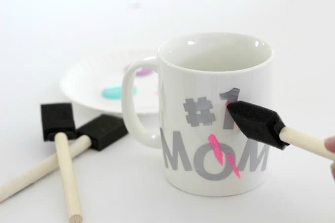 There are lots of DIY mug painting ideas to choose from