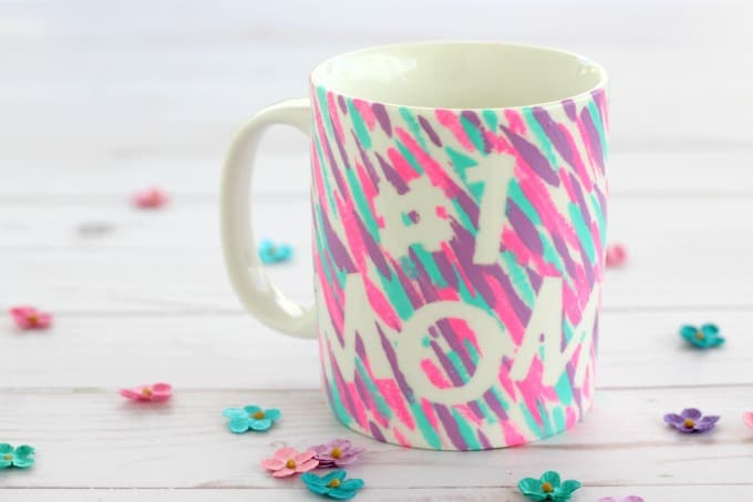 DIY painted mugs make great gifts for any occasion