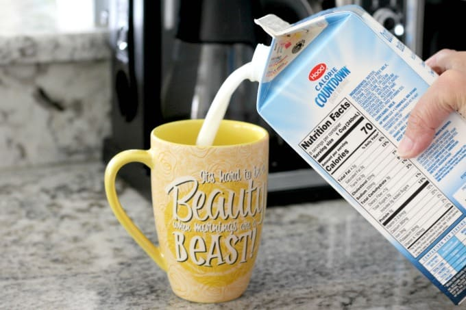 Calorie Countdown is a great milk substitute and perfect for coffee.