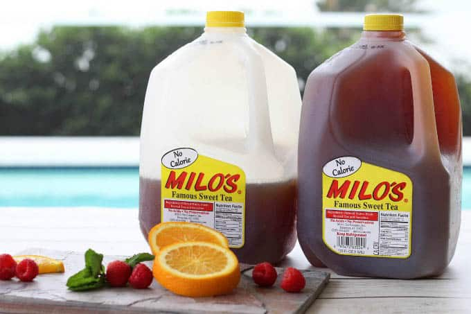 Milo's Tea is the perfect way to cool off on a hot summer day