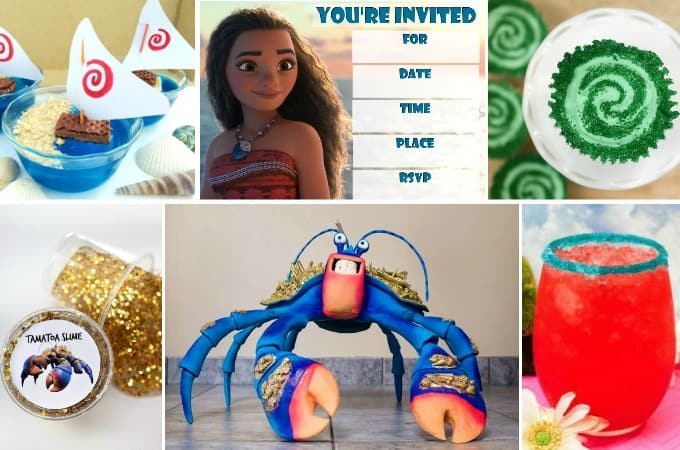 31 Amazing Ideas For The Best Ever Moana Birthday Party