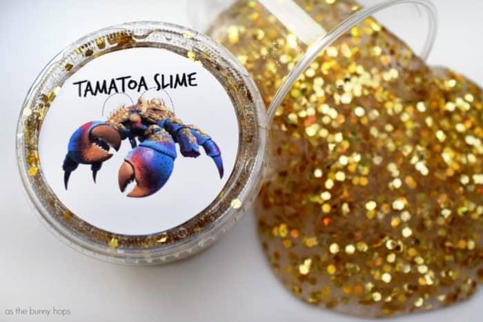Tamatoa slime for a Moana party